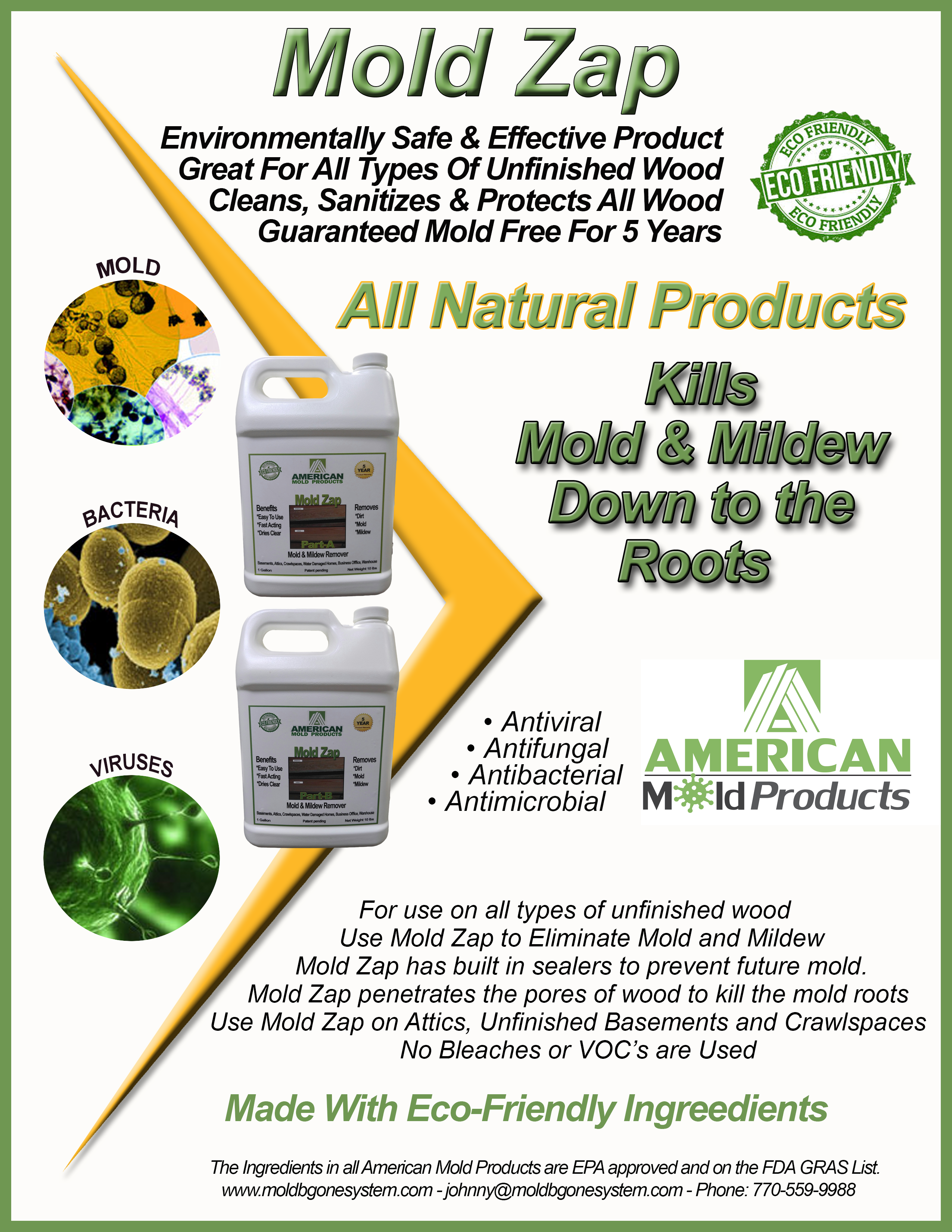 How To Prevent Mold In Basement - Mold zap product label